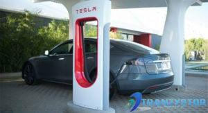 stacja ładowania Tesla