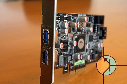 Asus prezentuję kartę rozszerzeń z USB 3.0