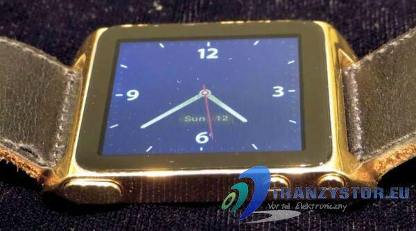 zegarek z ipod